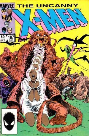 UNCANNY X-MEN (1963 1ST SERIES) #187