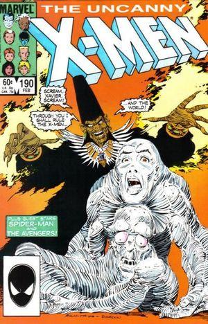 UNCANNY X-MEN (1963 1ST SERIES) #190