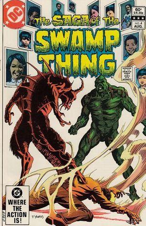 SWAMP THING (1982 2ND SERIES) #4