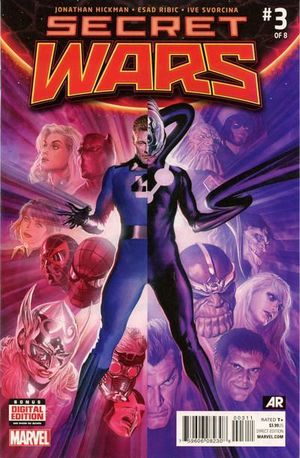 SECRET WARS (2015 3RD SERIES) #3