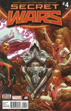 SECRET WARS (2015 3RD SERIES) #4