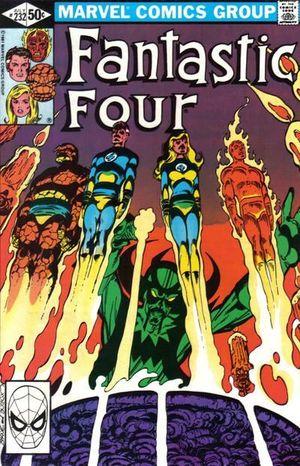 FANTASTIC FOUR (1961 1ST SERIES) #232