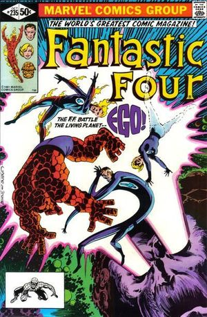 FANTASTIC FOUR (1961 1ST SERIES) #235