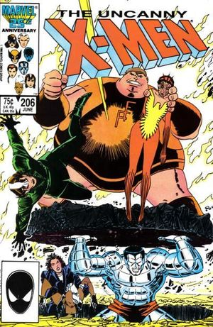 UNCANNY X-MEN (1963 1ST SERIES) #206