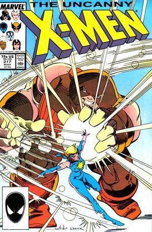 UNCANNY X-MEN (1963 1ST SERIES) #217