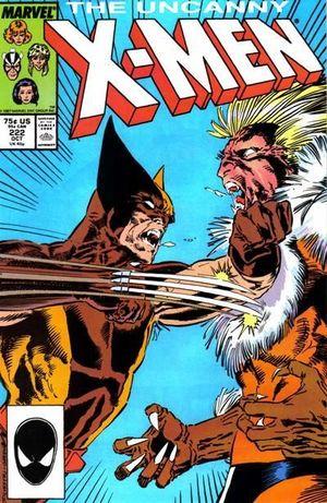UNCANNY X-MEN (1963 1ST SERIES) #222