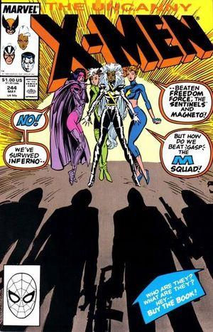 UNCANNY X-MEN (1963 1ST SERIES) #244