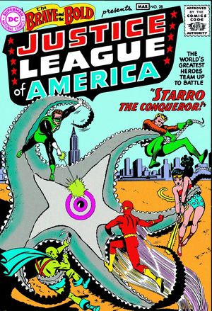 JUSTICE LEAGUE OF AMERICA: THE SILVER AGE #1