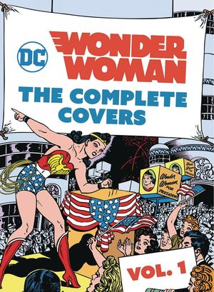 DC COMICS WONDER WOMAN COMP COVERS MINI HC #1