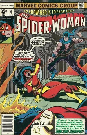 SPIDER-WOMAN (1978 1ST SERIES) #4