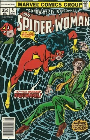 SPIDER-WOMAN (1978 1ST SERIES) #5