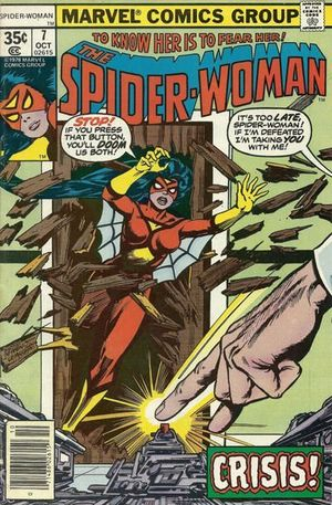 SPIDER-WOMAN (1978 1ST SERIES) #7