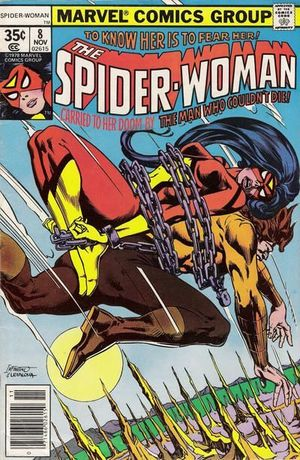 SPIDER-WOMAN (1978 1ST SERIES) #8