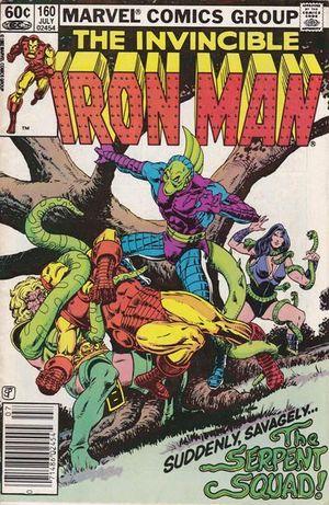 IRON MAN (1968 1ST SERIES) #160