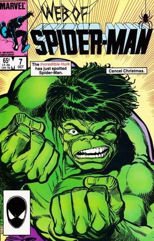 WEB OF SPIDER-MAN (1985 1ST SERIES) #7