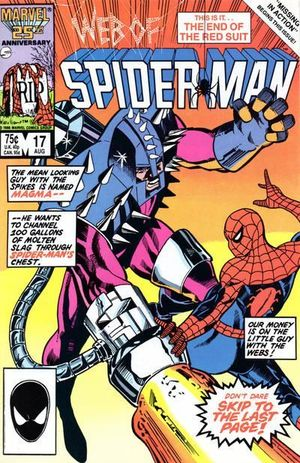 WEB OF SPIDER-MAN (1985 1ST SERIES) #17