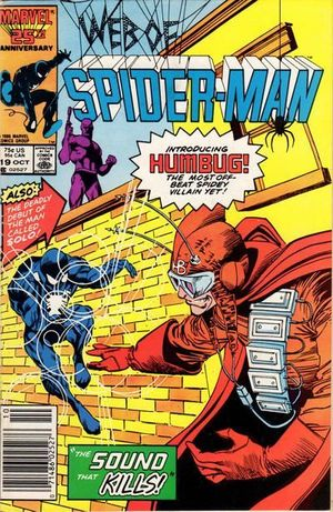 WEB OF SPIDER-MAN (1985 1ST SERIES) #19