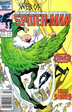 WEB OF SPIDER-MAN (1985 1ST SERIES) #24
