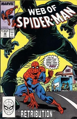 WEB OF SPIDER-MAN (1985 1ST SERIES) #39