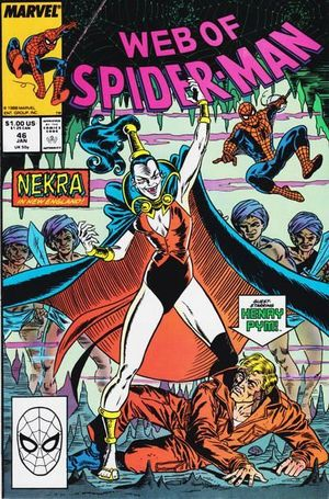 WEB OF SPIDER-MAN (1985 1ST SERIES) #46