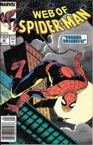 WEB OF SPIDER-MAN (1985 1ST SERIES) #49