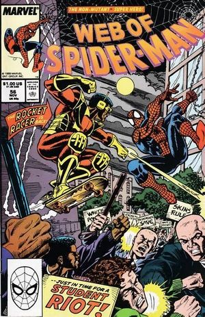 WEB OF SPIDER-MAN (1985 1ST SERIES) #56