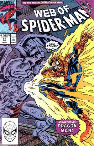 WEB OF SPIDER-MAN (1985 1ST SERIES) #61