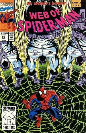 WEB OF SPIDER-MAN (1985 1ST SERIES) #98