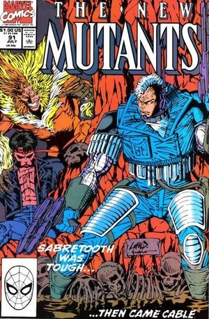 NEW MUTANTS (1983 1ST SERIES) #91