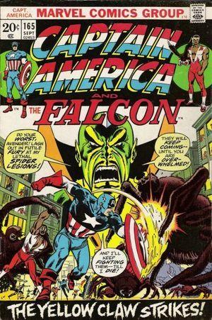 CAPTAIN AMERICA (1968 1ST SERIES) #165