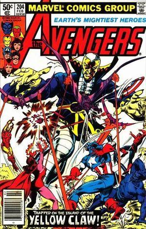 AVENGERS (1963 1ST SERIES) #204