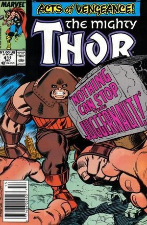 THOR (1962-1996 1ST SERIES JOURNEY INTO MYSTERY) #411