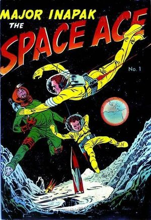 MAJOR INAPAK THE SPACE ACE (1951) #1