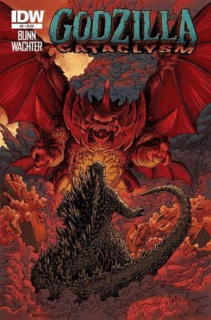 GODZILLA CATACLYSM (2014) #5