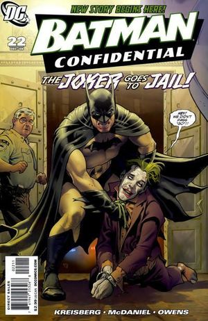 BATMAN CONFIDENTIAL (2006) #22