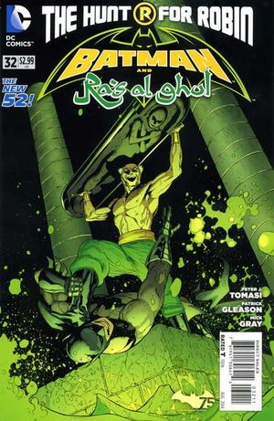 BATMAN AND ROBIN (2011 2ND SERIES) #32