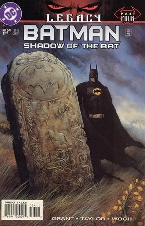 BATMAN SHADOW OF THE BAT (1992) #54