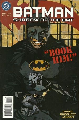BATMAN SHADOW OF THE BAT (1992) #55