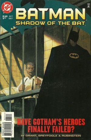 BATMAN SHADOW OF THE BAT (1992) #65