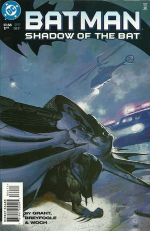 BATMAN SHADOW OF THE BAT (1992) #66
