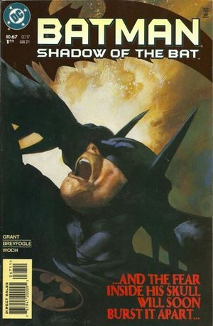 BATMAN SHADOW OF THE BAT (1992) #67