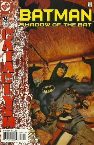 BATMAN SHADOW OF THE BAT (1992) #74