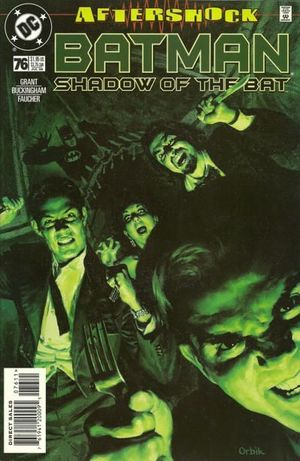 BATMAN SHADOW OF THE BAT (1992) #76