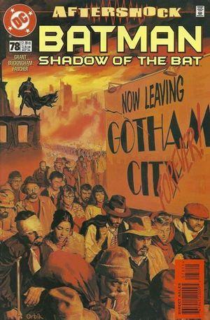 BATMAN SHADOW OF THE BAT (1992) #78