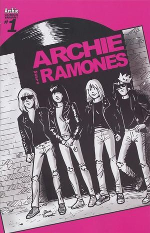 ARCHIE MEETS THE RAMONES (2016) #1D