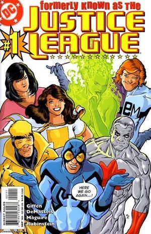 FORMERLY KNOWN AS THE JUSTICE LEAGUE (2003) #1-6