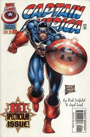 CAPTAIN AMERICA (1996 2ND SERIES) #1