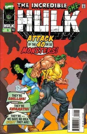 INCREDIBLE HULK (1962-1999 1ST SERIES) #442