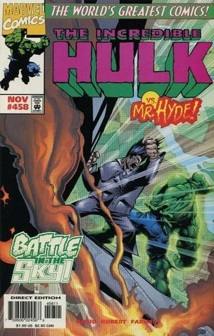INCREDIBLE HULK (1962-1999 1ST SERIES) #458