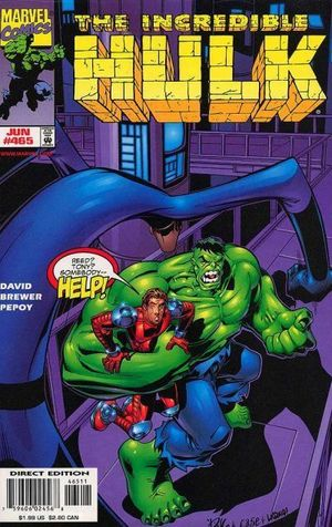 INCREDIBLE HULK (1962-1999 1ST SERIES) #465